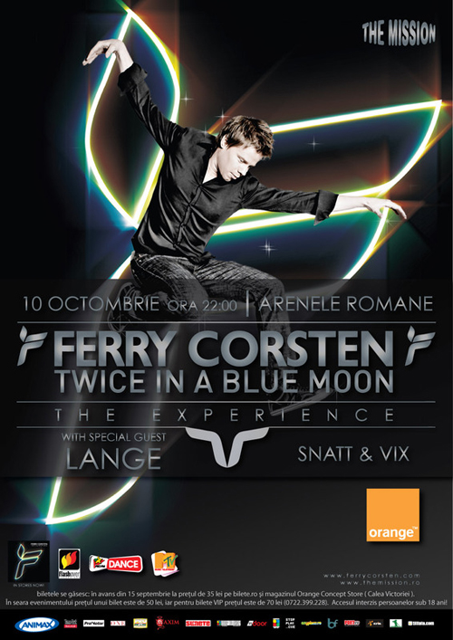 Ferry Corsten si Lange la Arenele Romane